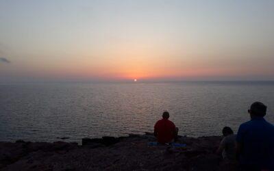 """Meditazione sul mare in loc. """"Torre del Porticciolo"""" (Alghero) – 10 luglio 2021"""